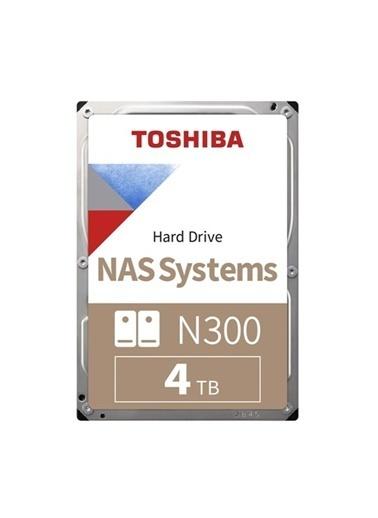 Toshiba Toshiba 4Tb N300 7200 128Mb 7/24 Nas Hdwq140Uzsva Renkli